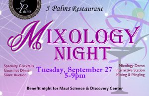 Mixology by Maui Science Center